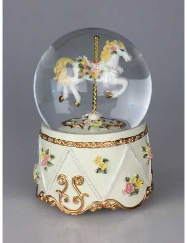 ΧΙΟΝ\ΛΑ CAROUSEL HORSE FLOW 10cm