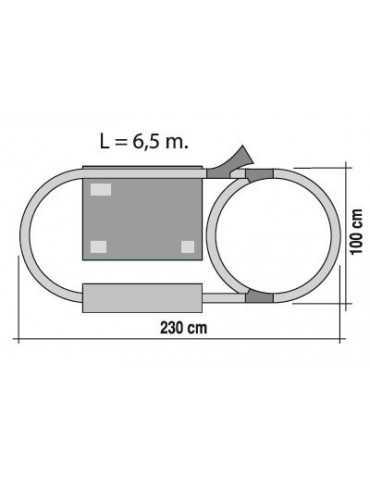 ΤΡΕΝΟ RENFE AVE 230x100cm