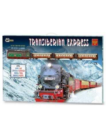 TRAIN TRANSIBERIAN EXPR 200x100cm
