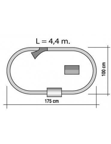 ΤΡΕΝΟ VIAJEROS 175x100cm