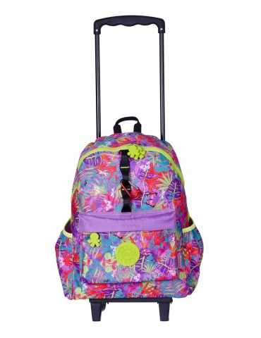 TROLLEY BACKPACK ORCHID