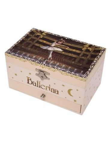 MUSIC BOX BALLERINA BROWN
