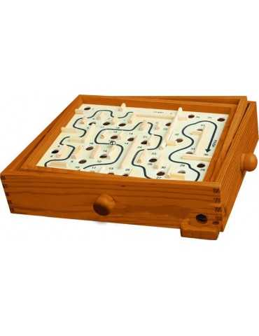 LABYRINTH WOODEN GAMES