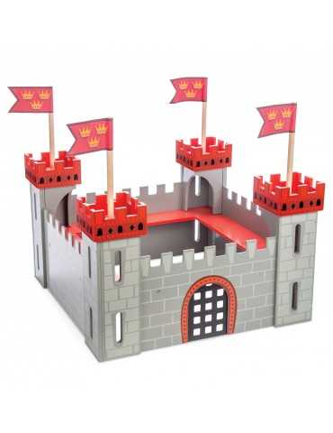 LE TOY VAN MY FIRST RED CASTLE