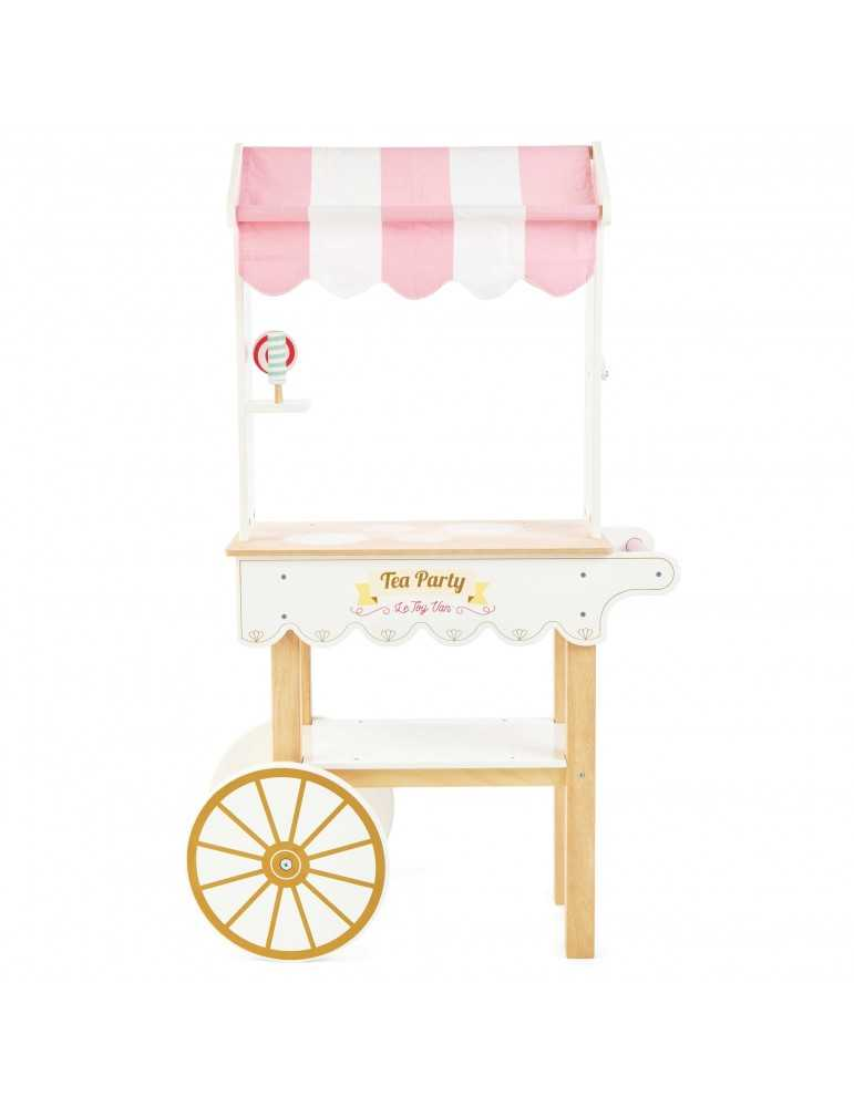 LE TOY VAN TROLLEY TEA PARTY