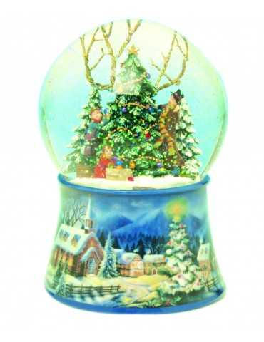 SNOWGLOBE FAMILY CHRISTMAS TREE