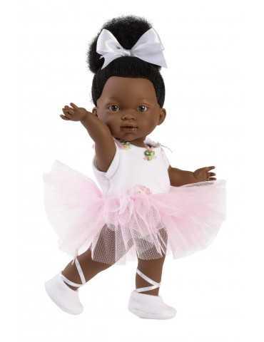LLORENS DOLL 28cm BLACK GIRL BALLERINA