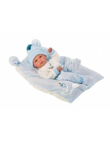 NEWBORN 35cm BOY BLUE LAYER