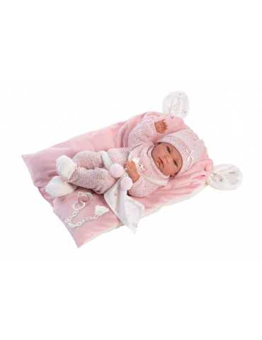 NEWBORN 40cm  GIRL PINK CLOTHES AND LAYER