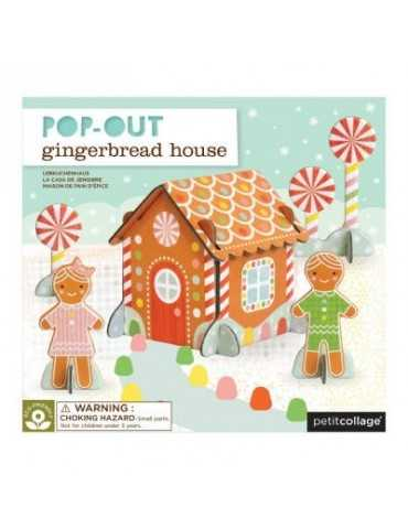 POP OUT GINGERBREAD 4+