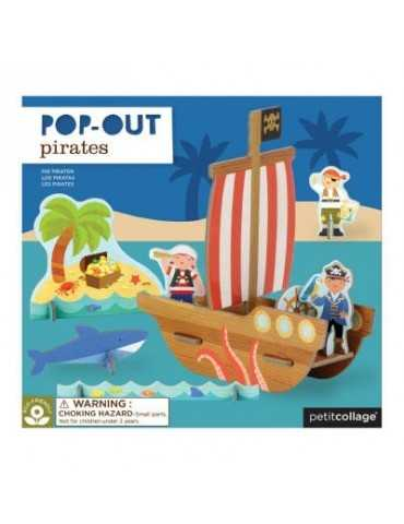POP OUT PIRATES SHIP 4+
