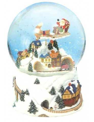 SNOWGLOBE CHRISTMAS TRAIN