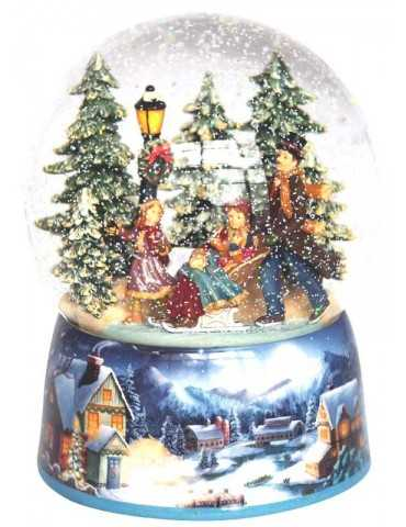 SNOWGLOBE FAMILY SLEIGH