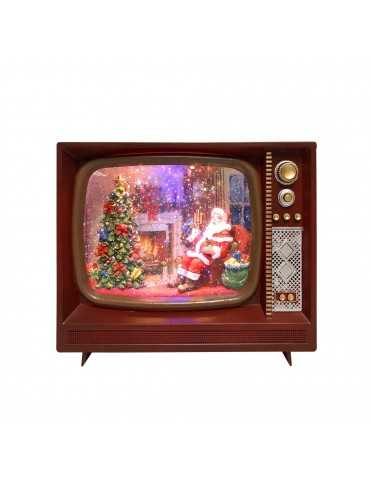 Christmas decoration TV Watersnowing Timstor