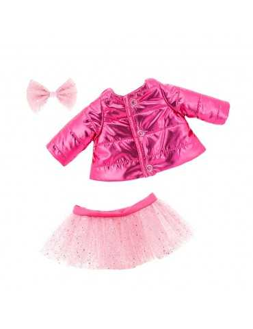 LUCKY DOGGY CLOTHES PINK JACKET