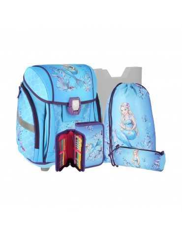SCHOOL BAG MERMAID SET*5 25L