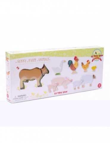 SUNNY FARM ANIMALS 9pcs