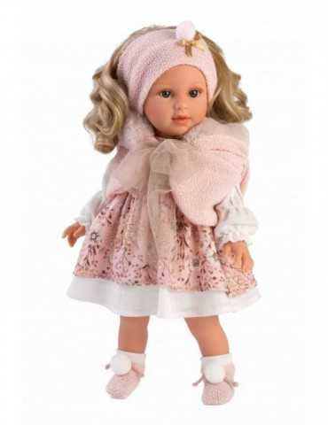 DOLL WITH BLONDY    HAIR