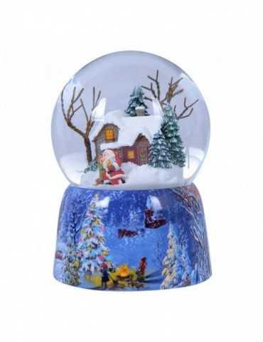 SNOWGLOBE CHRISTMAS HOUSE
