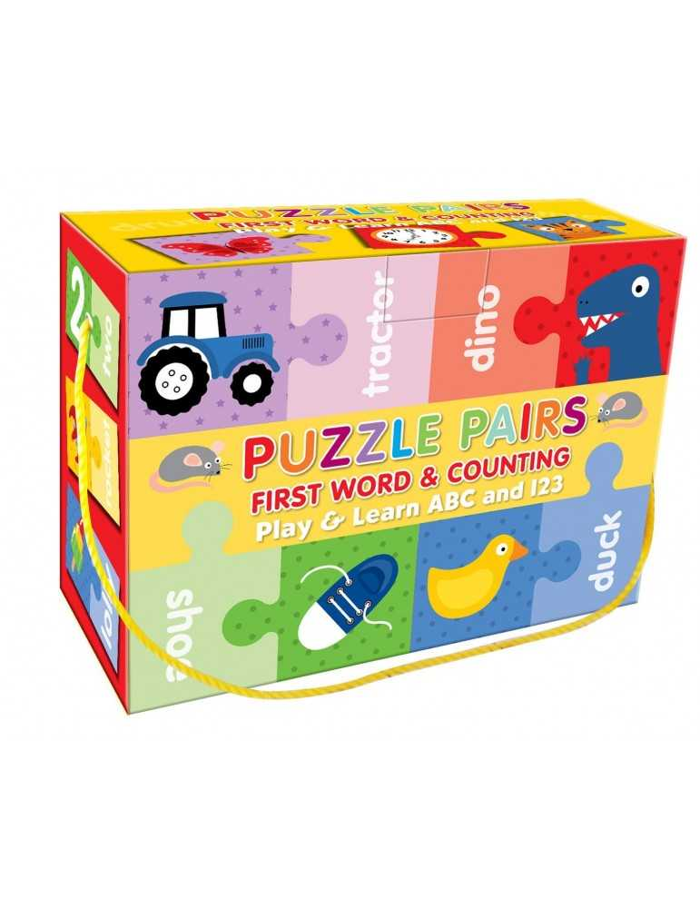 PUZZLE *FIRST WORDS*COUNTING