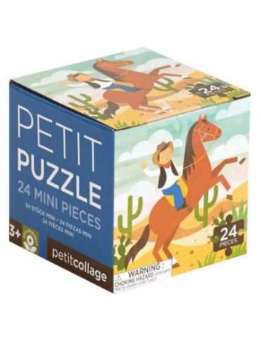 PUZZLE PETIT COWBOY 24TEM 4+