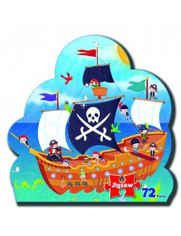 PUZZLE PIRATE SHIP 72 TEM.SHAP