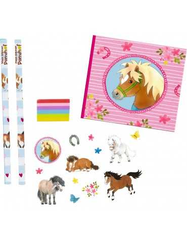 WRITING SET PONY ΡΟΖ